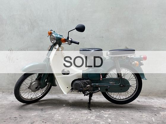 Verkauft '78 HONDA C50 SUPER CUB
