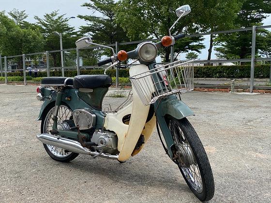 1978 HONDA C50 MOSS GREEN