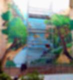 Decoración artística Mural