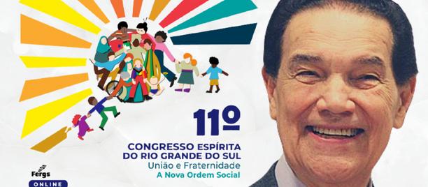 Fergs realiza 11º Congresso Espírita do RS 100% online e gratuito