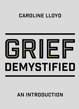 cover of a grief book