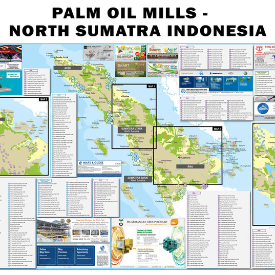 Palm Oil Mills - North Sumatra Indonesia