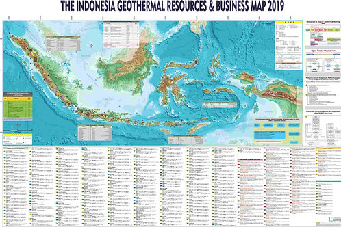 Indonesia Geothermal Map