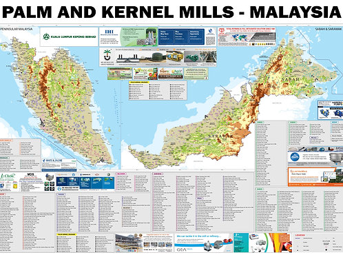Palm and Kernel Mills Map (ADV)