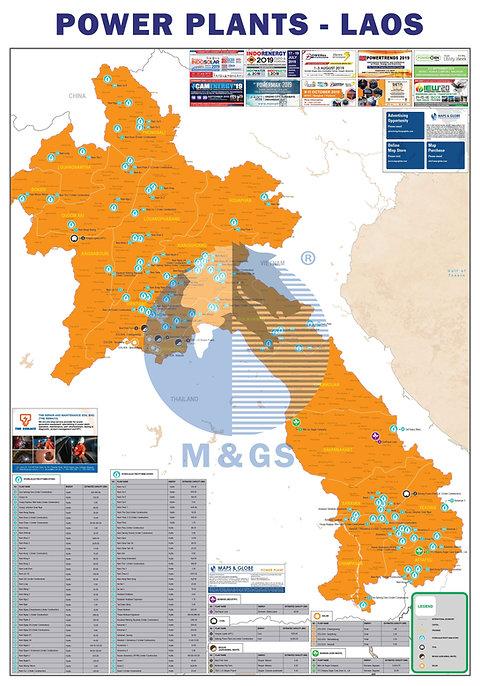 Power Plant Map - Laos (ADV)