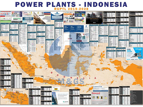 Power Plant Map - Indonesia (ADV)