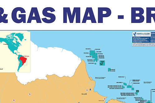 Oil and Gas Map - Brazil
