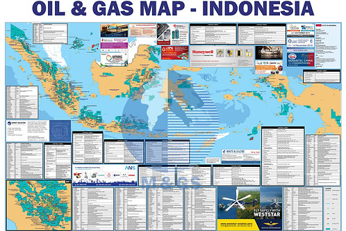 Oil & Gas Map - Indonesia (ADV)