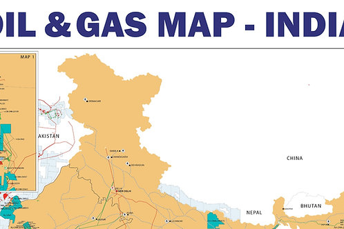 Oil and Gas Map - India