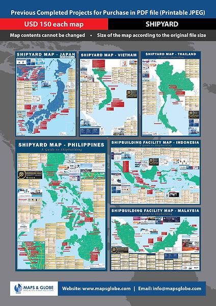 M&GS - A4 Past Map Sale Flyer - Shipyard