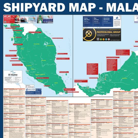 Shipyard Map - Malaysia
