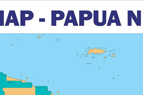 Oil and Gas Map - Papua New Guinea