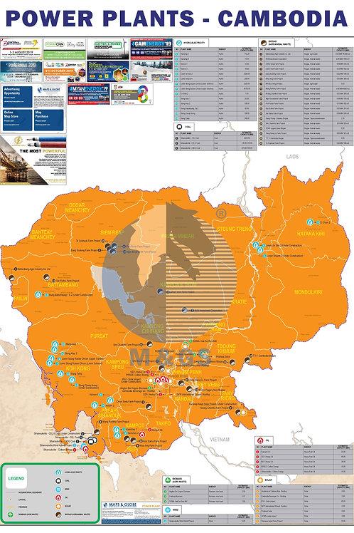Power Plant Map - Cambodia (ADV)