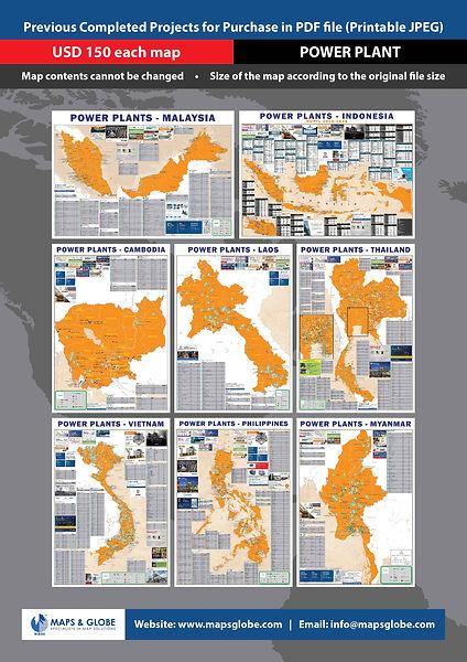 M&GS - A4 Past Map Sale Flyer - Power Pl