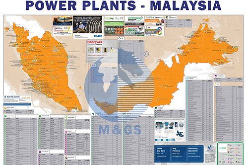 Power Plant Map - Malaysia (ADV)