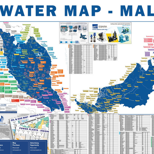Water Map - Malaysia