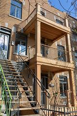Rénovation résidentielle façade Chapleau