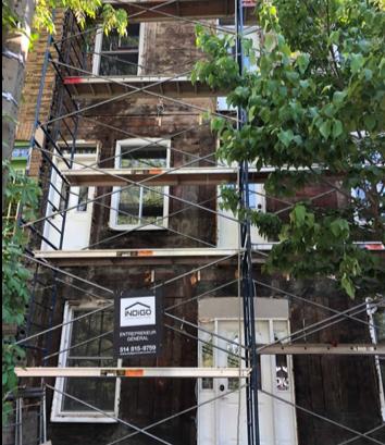 Méthode pour rénover une façade