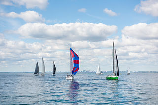 Royal racing week course de voile