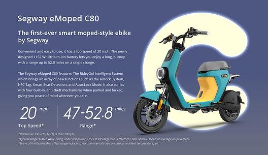 Segway C80 Moped