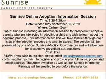 Online Adoption Information Session