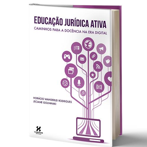 Livro: Educação Jurídica Ativa: caminhos para a docência na era digital
