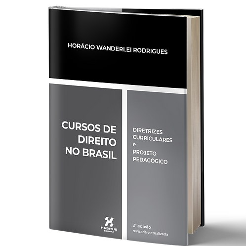 Livro: Cursos de Direito no Brasil: diretrizes curriculares e projeto pedagógico