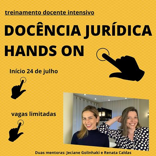 Intensivo: Docência Jurídica Hands On