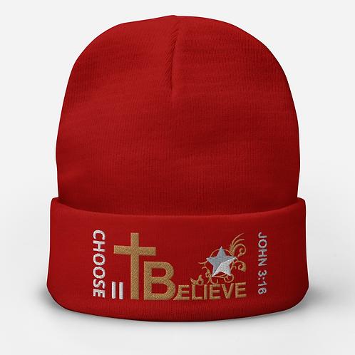 CHOOSE II Believe - Beanie