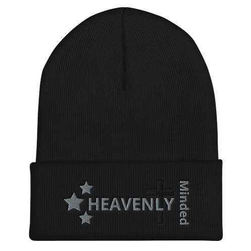 Heavenly Minded - Cuffed Beanie