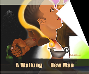 a walking new man
