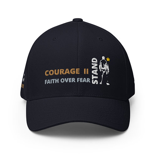 COURAGE II STAND  -  Structured Twill Cap