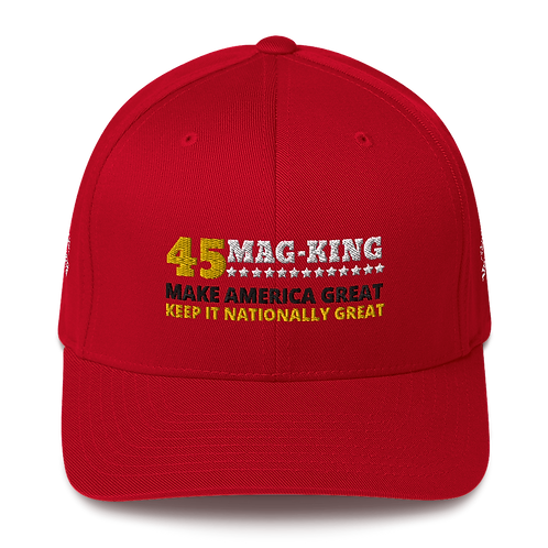 MAG KING  -  FlexFit Structured Twill Cap
