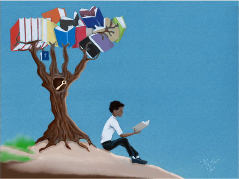 The tree of Books, the hidden key to possibilities