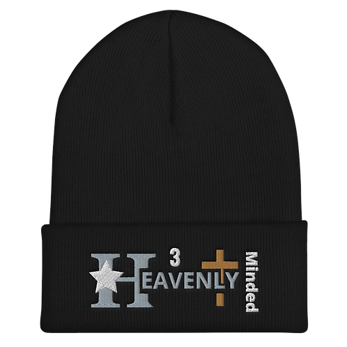 Heavenly Minded - Cuffed Beanie Revised