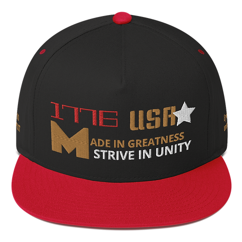 1776 Made in Greatness Black & Red
