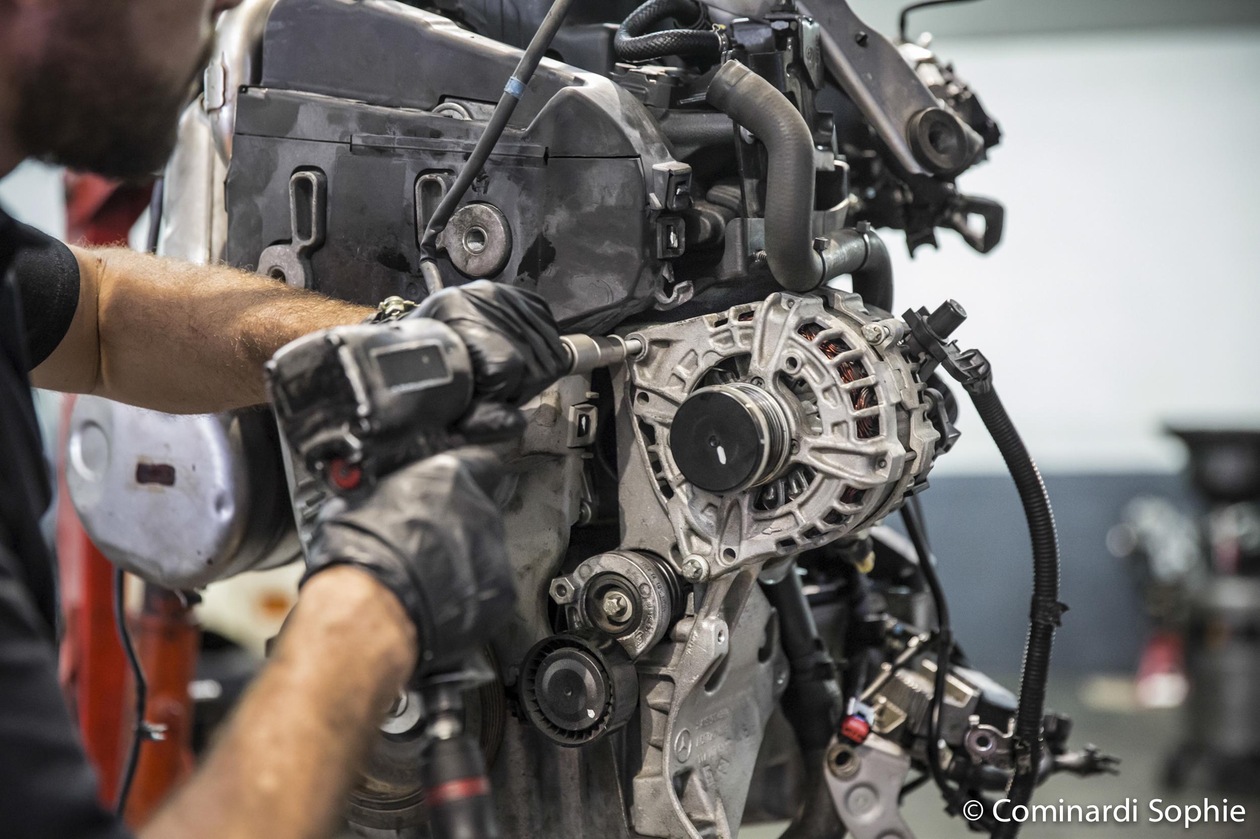 Reportage atelier mécanique