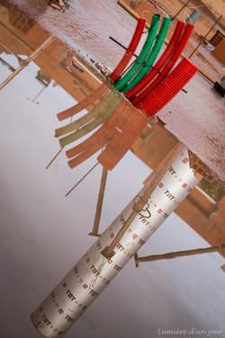Reflets de la construction