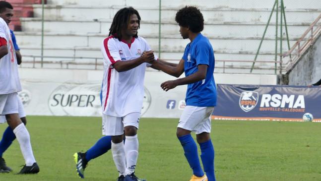 L'album photos FOOTNC du match AS Kunie - AS Wetr (Super Ligue)
