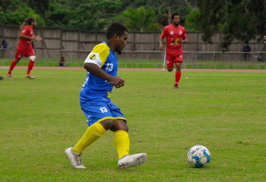 La réaction d'après-match : Kuan Bearune (Horizon Sport) revient sur le match contre la JS Baco