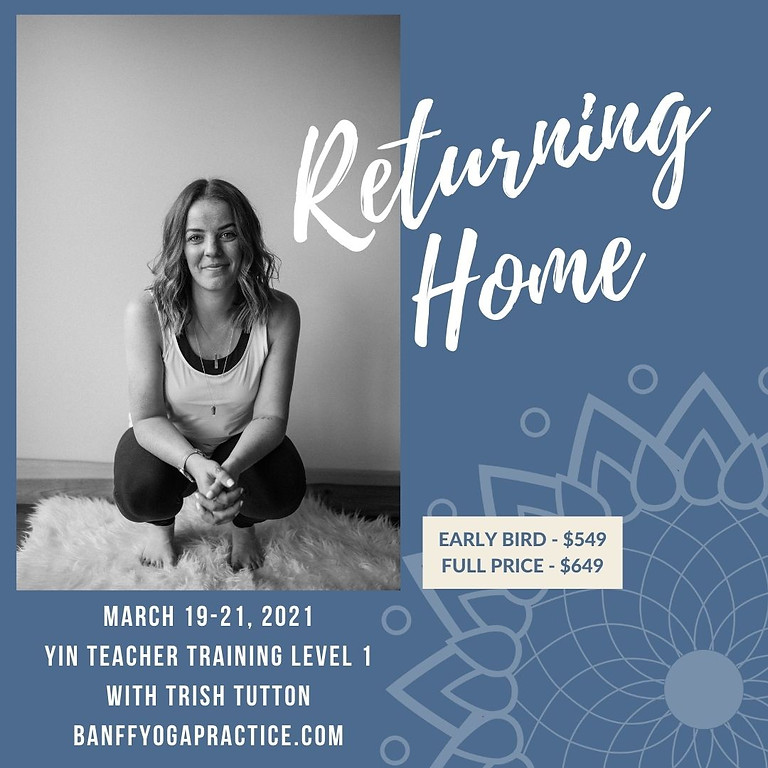 Returning Home: Yin Yoga Teacher Training Level 1  (1)