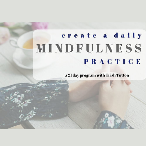 Create a Daily Mindfulness Practice (Video Program)