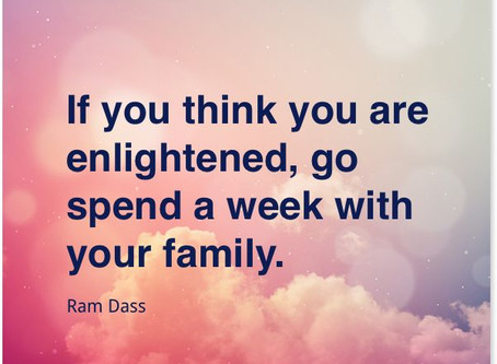 A mindful practice for being with family.