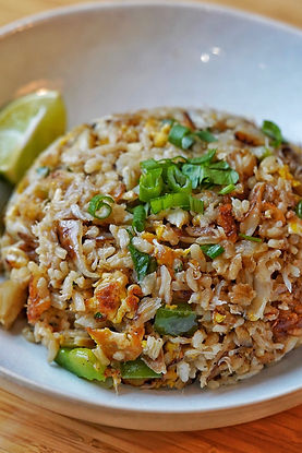 Coconut Crab Fried Rice