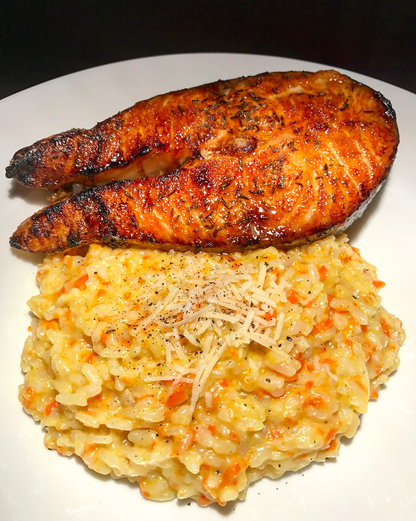 Brown sugar cayenne salmon
