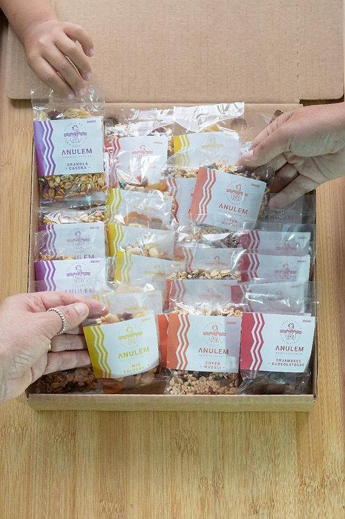 Pack Mensual de 25 Snacks Saludables