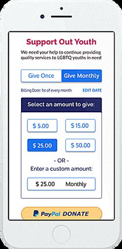Select Donation Amount