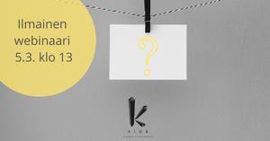 Kuinka kirjoitustaito ja asiakaskokemus liittyvät toisiinsa? Sen kuulet ilmaisessa webinaarissa.