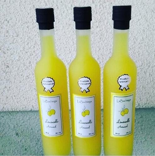 Limoncello Artesanal Garrafa Sottile Fosca (500 ml)