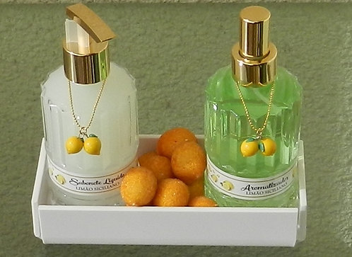 Kit Bassano - Sabonete Líquido (250 ml) + Home Spray (250 ml)